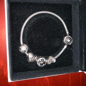 Gnoce sterling silver bracelet